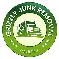 GrizzlyJunk Removal Color Logo