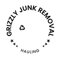 Grizzly Junk Removal Logo White