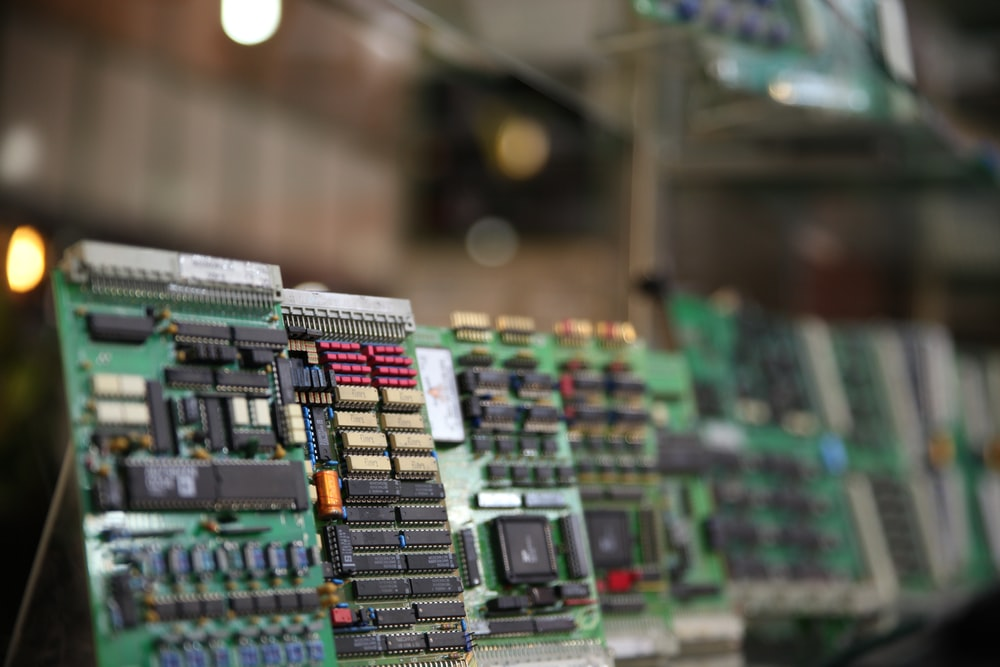 Old circuit boards separated to be recycled to reduce e-waste